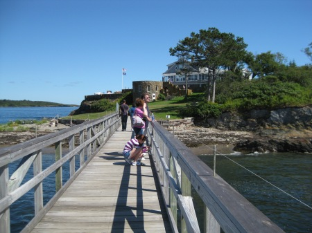 Admiral Peary's Eagle Island Home in Harpswell Maine
